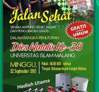 JALAN SEHAT UNISMA 2019