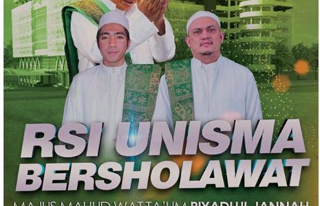 RSI UNISMA Bersholawat bersama Majlis Riyadlul Jannah