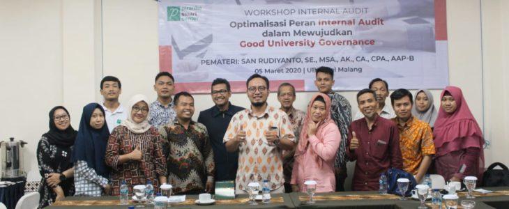 Workshop Internal Audit : Optimalisasi Peran Internal Audit Perguruan Tinggi